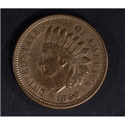 1859 INDIAN HEAD CENT, CH BU