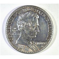 1918 LINCOLN COMMEM HALF DOLLAR, GEM BU