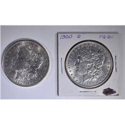 1900-O & 1902-O CH BU+ MORGAN DOLLARS