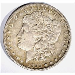 1899 MORGAN DOLLAR, XF SEMI-KEY