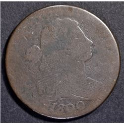 1800 LARGE CENT  GOOD  S.206 R-5