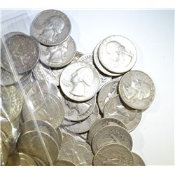 $15 FACE VALUE 90% SILVER QUARTERS