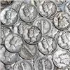 Image 1 : 3 Silver Mercury Dimes Assorted Dates & Mints out of Found Bucket Estate in Spirit Lake, Idaho