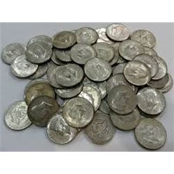 Bag of 2 Silver Kennedy Half Dollars 1965-1970 All for 1 Money!