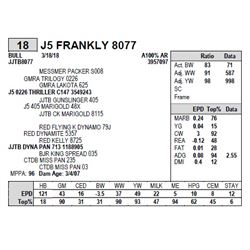 J5 FRANKLY 8077