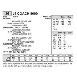 J5 COACH 8099