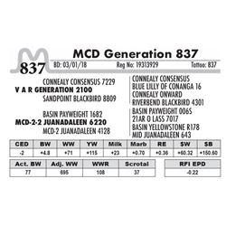 837 - MCD Generation 837