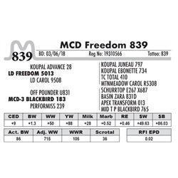 839 - MCD Freedom 839