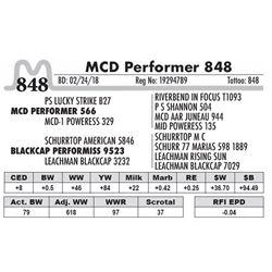 848 - MCD Performer 848
