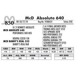 850 - McD Absolute 640