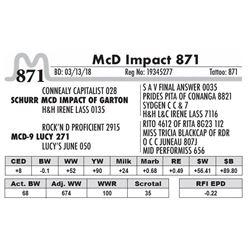 871 - McD Impact 871