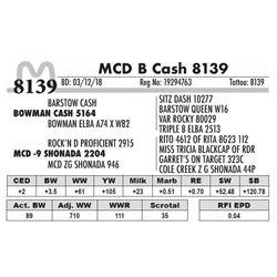 8139 - MCD B Cash 8139