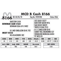 8166 - MCD B Cash 8166
