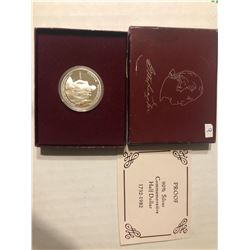 1982 Silver George Washington PROOF in Original Box with Paperwork