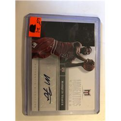 2013 PANINI Signed ROOKIE Card Marquis Teague