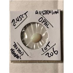 2.45 Carat Large Australian OPAL Tested Natural