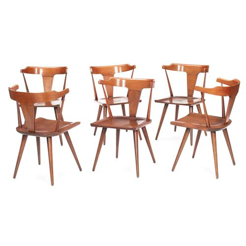 Paul Mccobb Planner Group Dining Chairs Set Of S