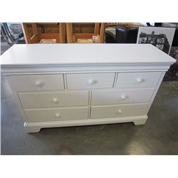 YOUNG AMERICA WHITE 7 DRAWER DRESSER