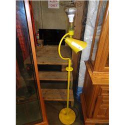 YELLOW ANTIQUE FLOOR LAMP