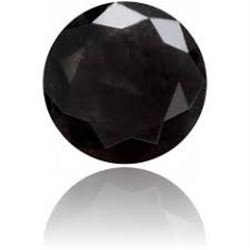 Extremely Rare BLACK DIAMOND .01pt-.02pt Gemstone