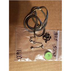 Bag of 925 Silver Scrap Total Weight 16 Grams