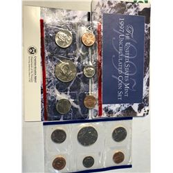 1997 P D US Mint Set in Original Packages