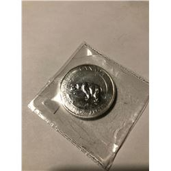 2013 1 1/2 oz Silver Canadian Polar Bear 8 dollars