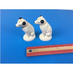 NIPPER DOG SALT & PEPPER SHAKERS (RCA VICTOR)