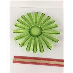 GLASS PLATE (GREEN ART)