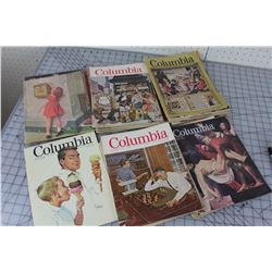 LOT OF 42 MAGAZINES (KNIGHTS OF COLUMBUS) *1960S*