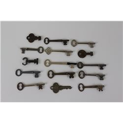 LOT OF SKELETON AND OTHER VARIOUS KEYS