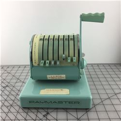 PAYMASTER CHECK WRITING MACHINE