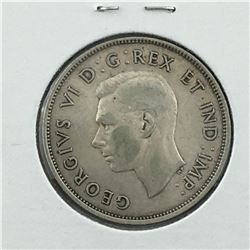 1938 CNDN 50 CENT PC * SILVER *