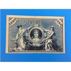 1908 GERMANY BANK NOTE (100 MARK)