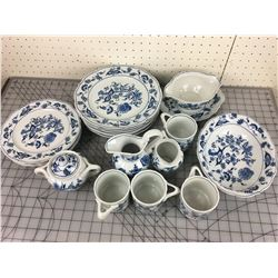 LOT OF DINNERWARE (BLUE DANUBE)*EXCELLENT CONDITION*