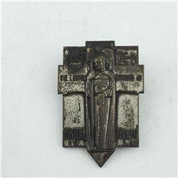 1936 GERMAN PIN (XAN TEN)
