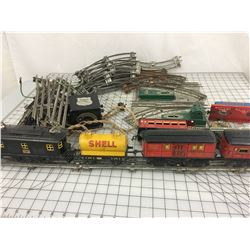 AMERICAN FLYER LINES TRAIN SET # 3011 (LOCOMOTIVE, CARS, TRACK & MORE)