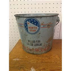 10 LB. NORTH STAR OIL GREASE PAIL CAN