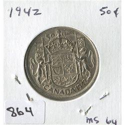 1942 CNDN 50 CENT PC