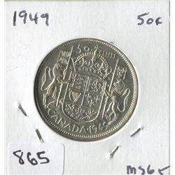 1949 CNDN 50 CENT PC