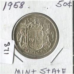 1958 CNDN 50 CENT PC