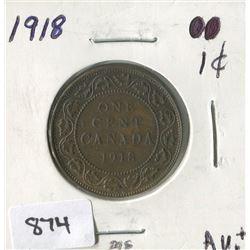 1918 CNDN 1 CENT PC