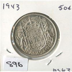 1943 CNDN 50 CENT PC