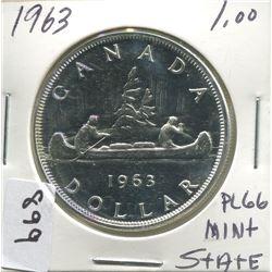 ONE DOLLAR COIN (1963)