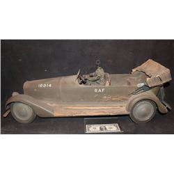 MINIATURE ANTIQUE PASSAGE TO MARSEILLE SCREEN MATCHED RAF STAFF CAR HUMPHREY BOGART CLAUDE RAINS