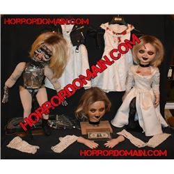 SEED OF CHUCKY SCREEN USED TIFFANY HERO ANIMATRONIC AND ARMATURED PUPPETS