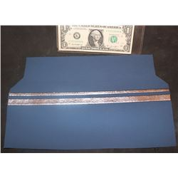 STAR TREK SPOCK SLEEVE RANKING STRIPES ON FABRIC PANEL THE ONLY ONE
