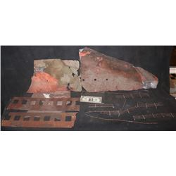 TITANIC LOT OF SUNKEN RUSTED MINIATURE PARTS