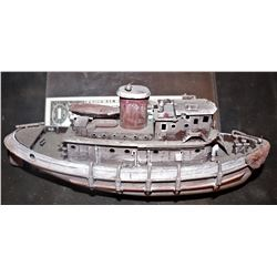 ZZ-CLEARANCE TANK GIRL SCREEN USED MINIATURE SHIP SEEN IN THE DESERT