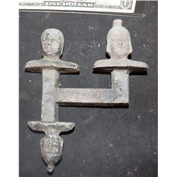 ZZ-CLEARANCE MINIATURE ANTIQUE METAL HEAD MASTERS 2